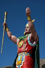 statua di un guerriero