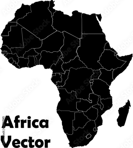 Afrika Vektor