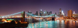 Fototapety New York City Manhattan skyline Brooklyn Bridge panorama