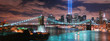 Fototapeten,new york city,manhattan,nacht,balken
