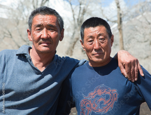 Two Kazakh men