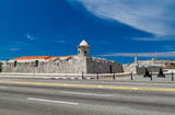 The fortresses of La Punta and El Morro in Havana, Cuba