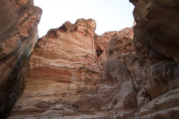 Rock City of Petra in Jordan