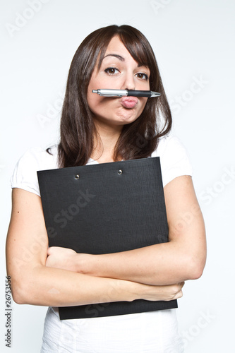 funny business woman