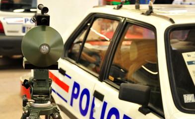 controle radar et police