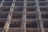 Metal mesh of iron rods