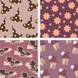Halloween backgrounds pattern