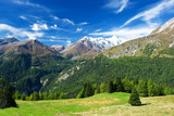 Fototapety a beautiful view of the austrian alps