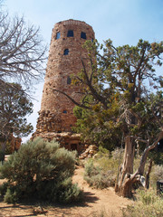 Puebloan tower ruins