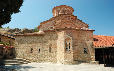 Church of Roussanou monastery,Meteora,Greece,Balkans