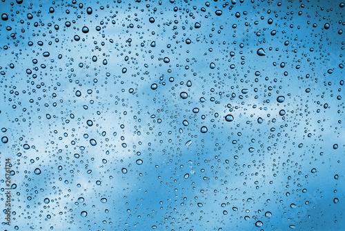 Fototapeta Wet Window