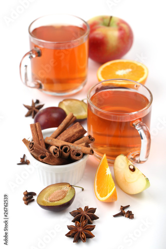 Spicy winter hot drink