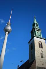 Kirche - Fernsehturm