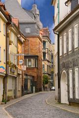 Gasse in der Erfurter Altstadt