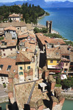 View from The Scaliger Castle at Sirmione, Lake Garda, Italy