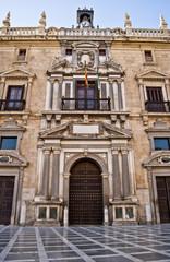 Fachada Real Chancillería de Granada
