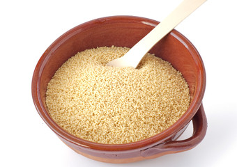 Bowl of couscous