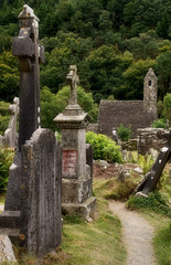St. Kevin's Church and Cemetery, Glendalough