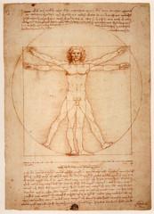 Léonard de Vinci - L'uomo vitruviano