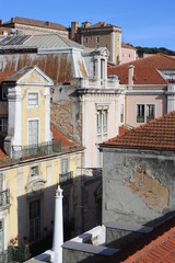 detail of street in Lisbon
