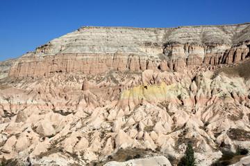La vallée rose en Cappadoce