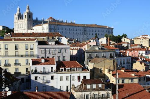 Alfama - Lisbon, Portugal Poster