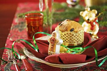 Panettone zu Weihnachten