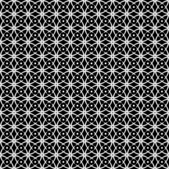 Seamless op art pattern. Black-and-white texture.
