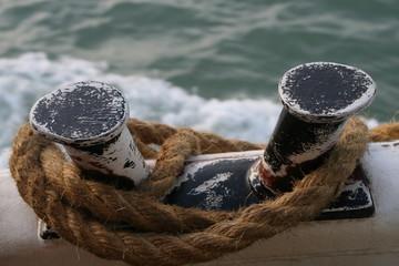 Corda per ormeggiare la nave