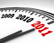 2011 Clock - Countdown to New Year