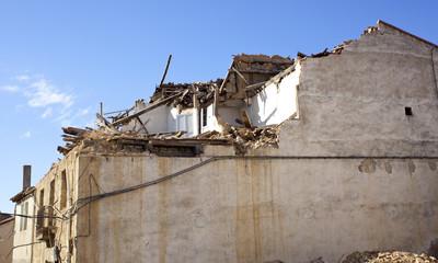 Casa in demolizione
