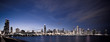 Chicago panoramic at night