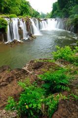 Tad Pha Suam waterfall,champasak,  Laos