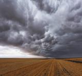A storm cloud poster