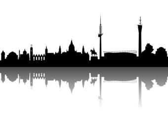 """Hannover """"Niedersachsen"""" Silhouette"""