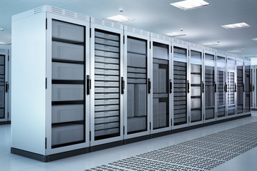 Server Rack Set, Airconditioned