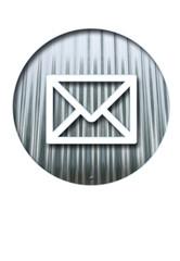 message métal creux