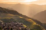 Fototapete Dorf am meer - Landschaft - Mittelgebirge