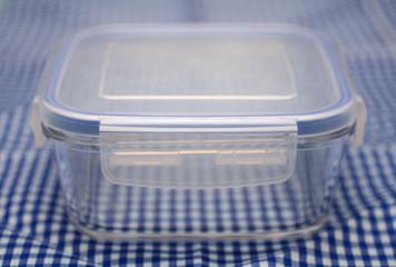 Boîte hermétique en verre