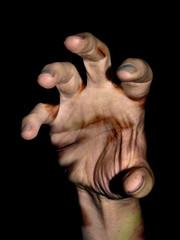 Zombie hand coming at ya