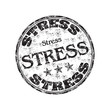 Stress grunge rubber stamp