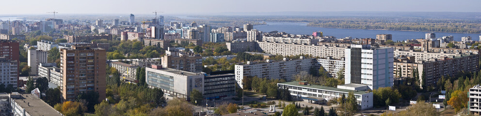 Urban landscape XXL Size Typical residential area Russia