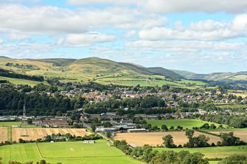 Wooler, rural Northumberland, England, UK, Europe