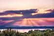 Sunset background.