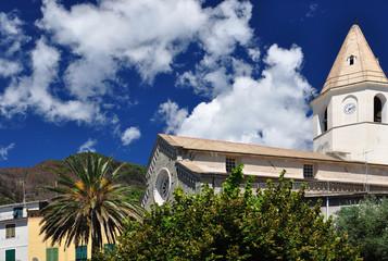 Corniglia church