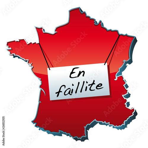France en Faillite de Yves Damin, Fichier vectoriel libre ...