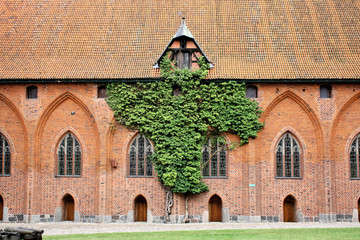 Greatest Gothic castle-Malbork. World Heritage List UNESCO.