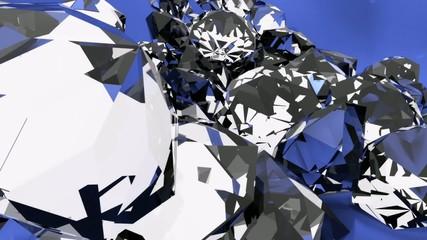 Cascata di diamanti