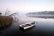 Leinwanddruck Bild - Rowboat