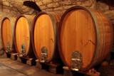 Fototapeta Barrique, Rotwein, Eichenfässer,  Weinfässer, Holzfässer